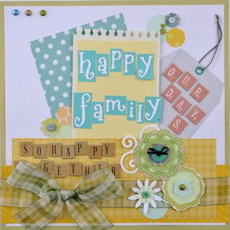 スクラップブッキング_12in_happy family