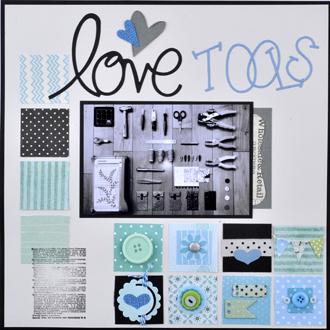 スクラップブッキング_12in_love tools