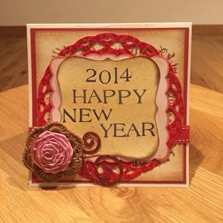 スクラップブッキング_6in_New Year Card